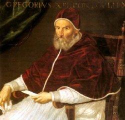Lavinia Fontana (1552-1614): podobizna papeže Řehoře XIII. (1502-1585)